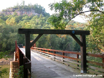 Sublimity Bridge at Bee Rock