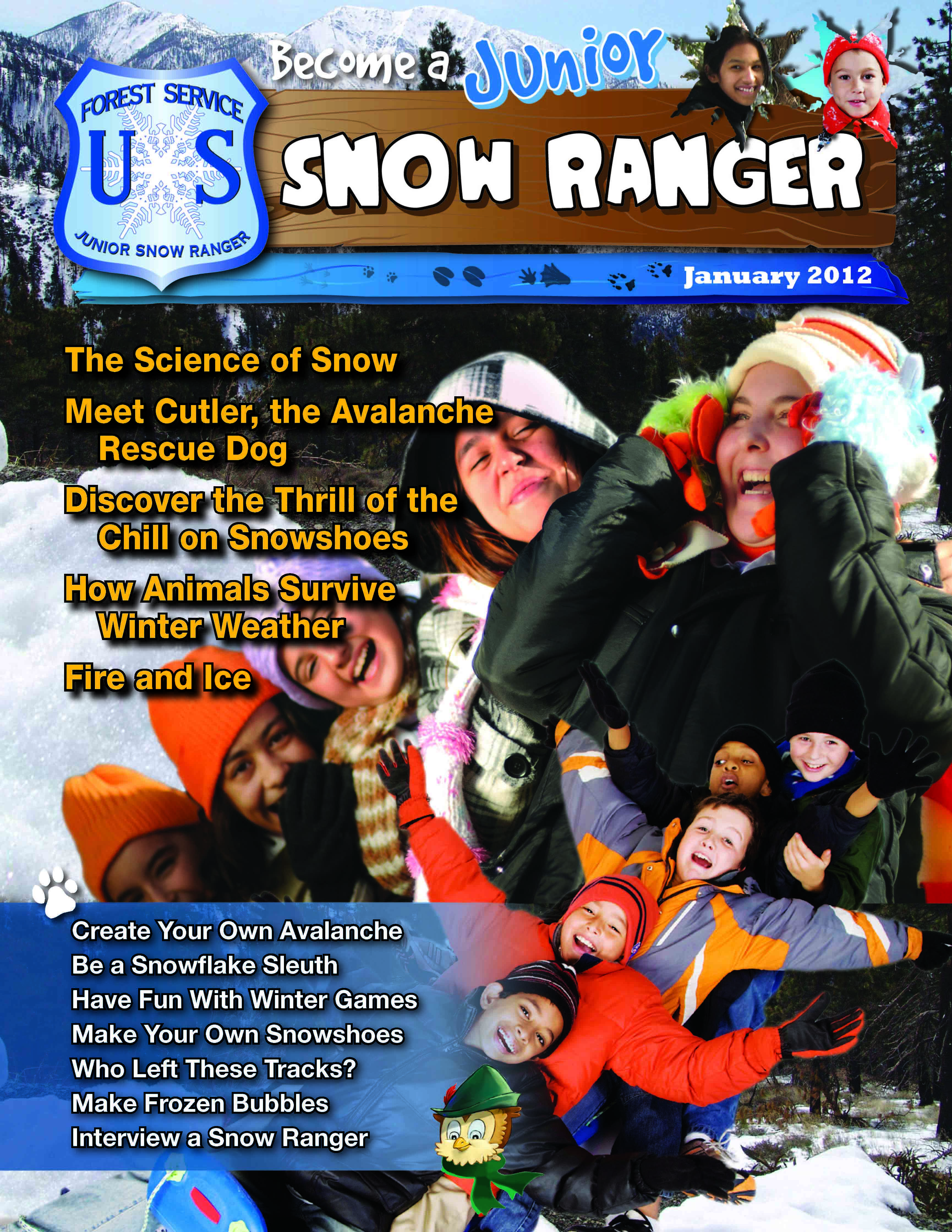 Conservation Education - Become a Junior Snow Ranger