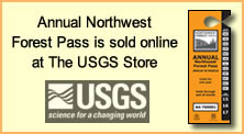 Annual Northwest Forest Pass is sold online at the USGS Store