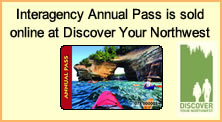 Interagency Annual Pass is sold online at Discover Your Northwest