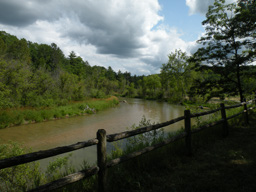 Pine National Scenic River, Low Bridge overlook