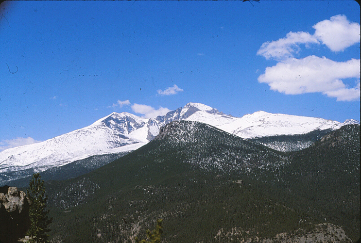 Recreationists are greeted with beautiful nearby mountain ranges.