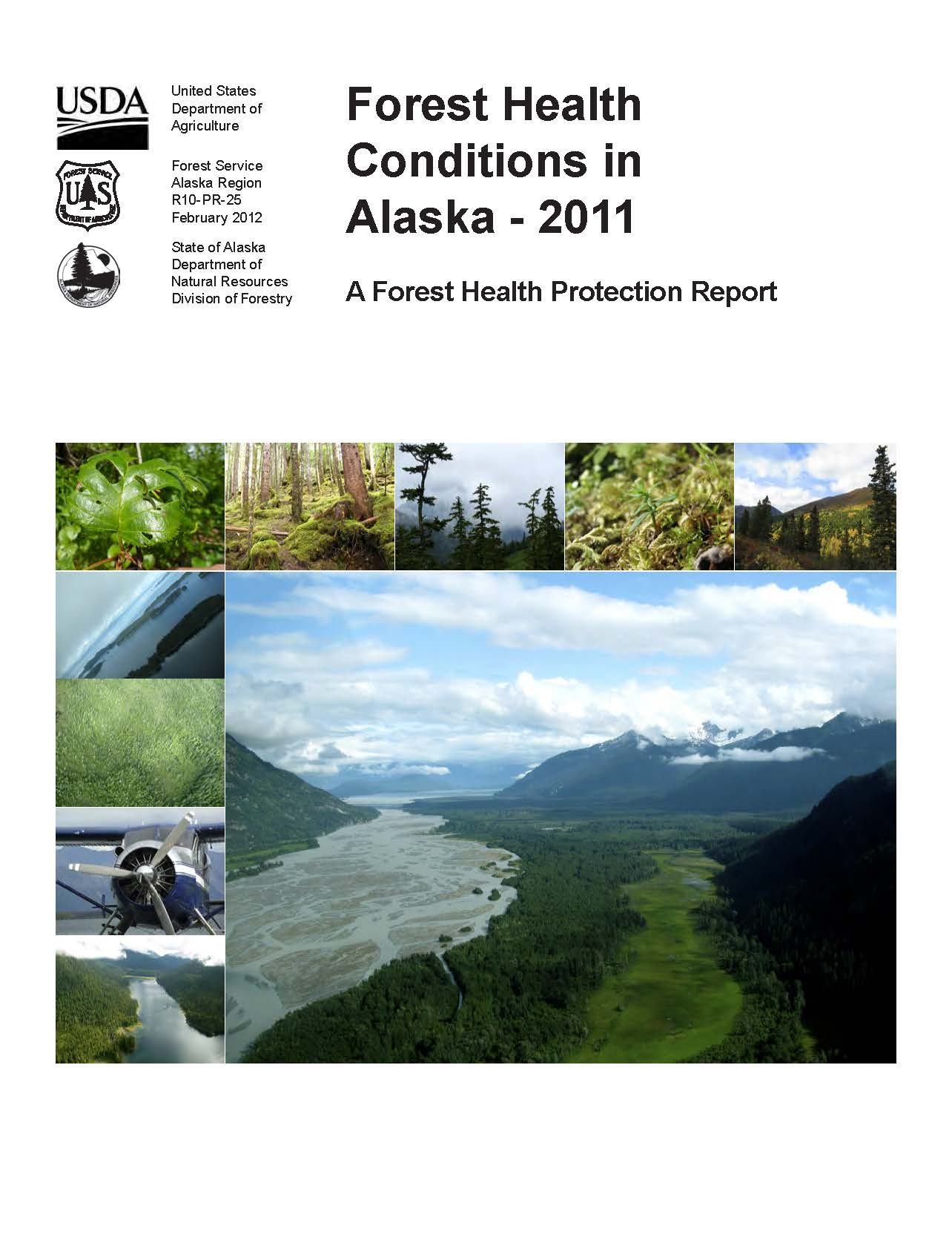 This image shows the cover of the 2011 Condition Report