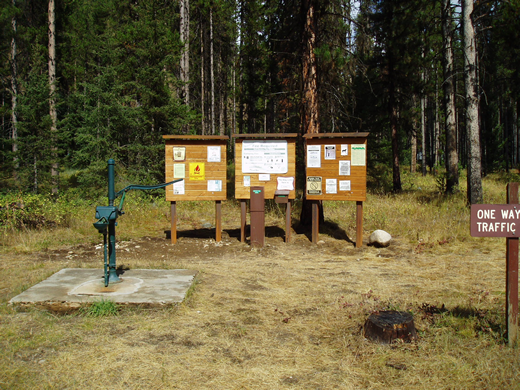 Image of Martin Creek Campground.