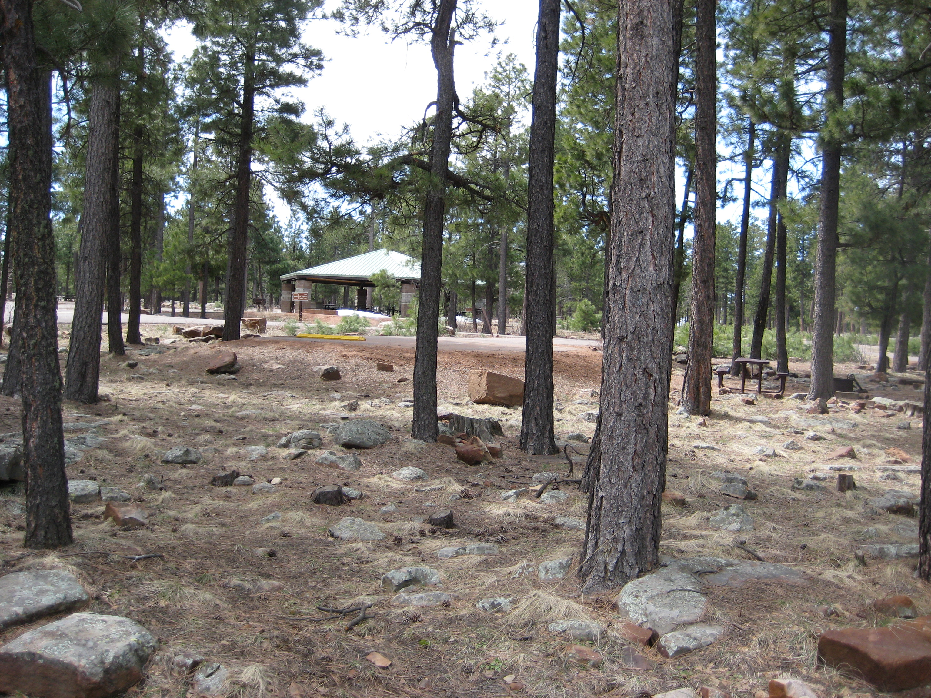 Ramada at Crook Campground