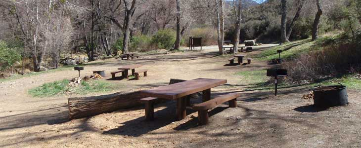 Middle Lion Campground view of site after the deferred maintenance was completed