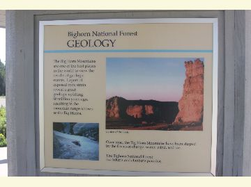 photo of an interpretive sign