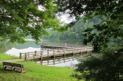 Accessible facilities on majestic Cherokee Lake in Nantahala National Forest