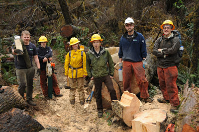USFS Trail Crew Courtesy Larry Workman-QIN