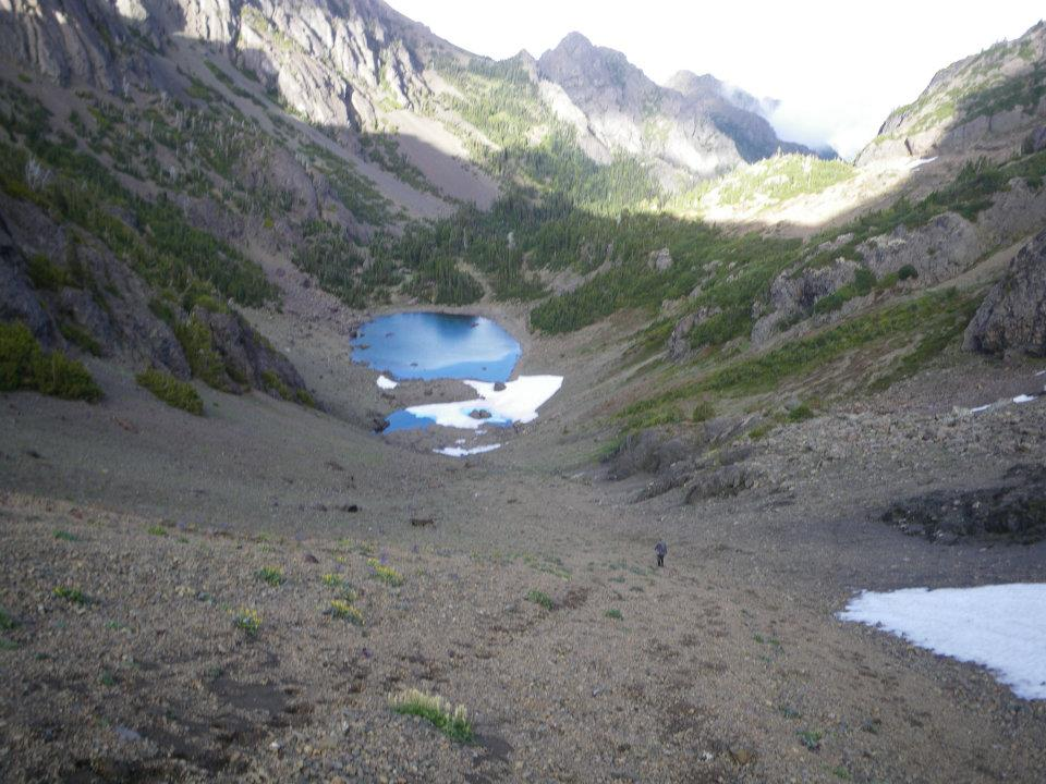 Charlia Lakes in Buckhorn Wilderness