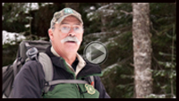 Outdoorsman and long-time Forest Service volunteer Pat Ellis. photo by Kelly Sprute, US Forest Service.