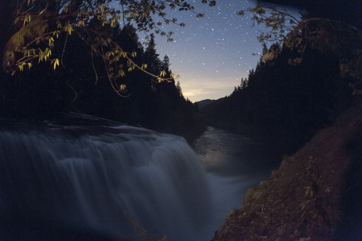 Lower Lewis Falls Night- Scene 3