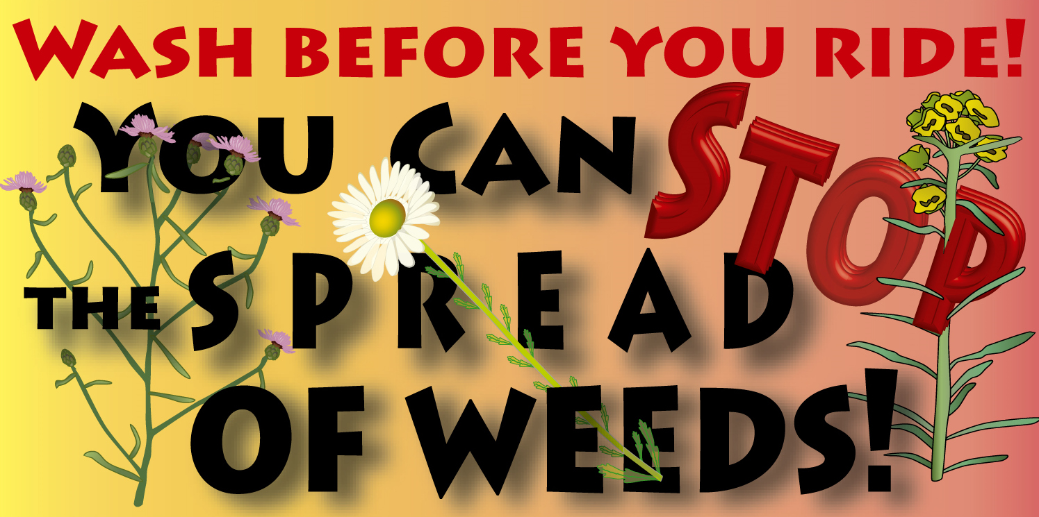 Beware of Weeds! Stop the Spread Of Weeds by Checking your equipment