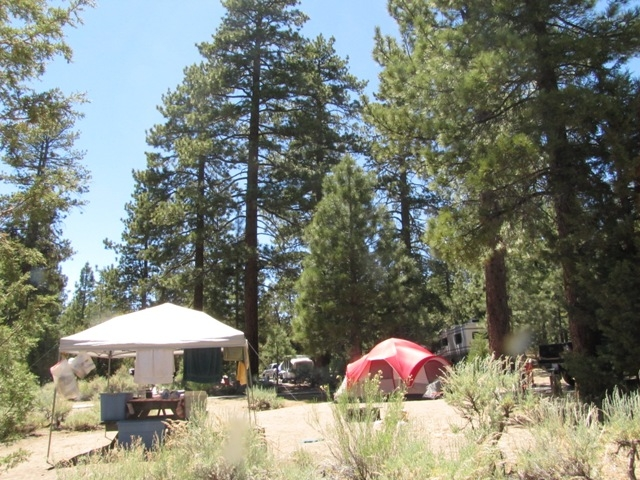 This is a very popular campground on the north shore of Big Bear Lake.