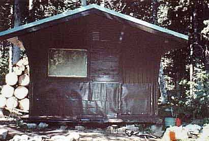 Laughton Glacier Cabin