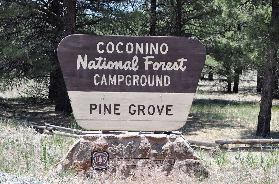 Coconino National Forest Pine Grove Campground
