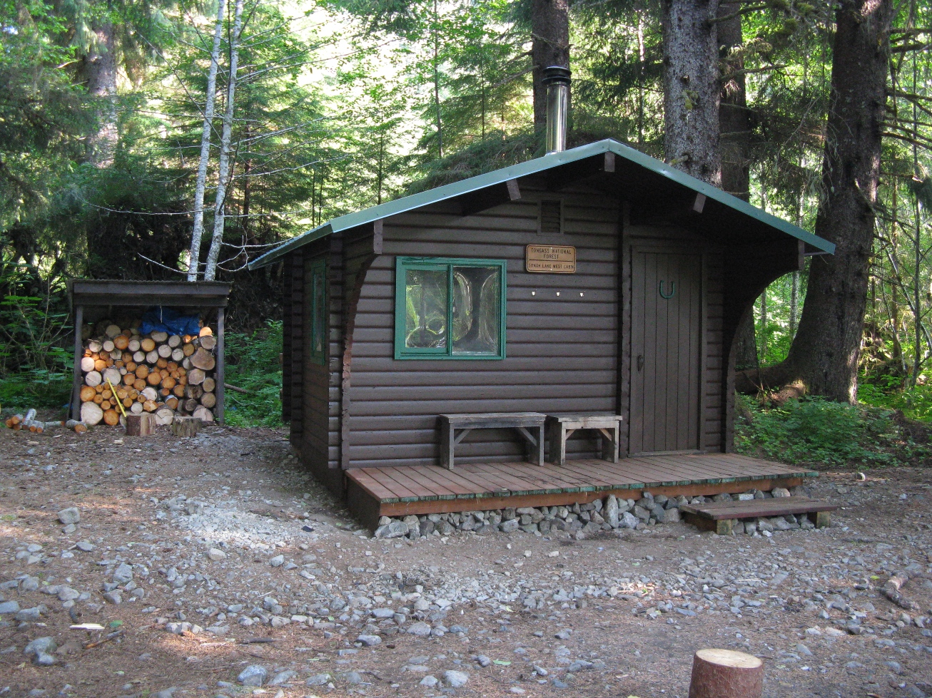 West Sitkoh Lake Cabin