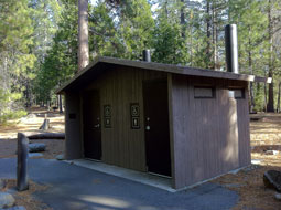 Cherry Valley Campground Restroom