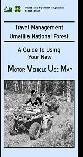 Graphic: Motor vehicle map image. Click to go to forest maps.