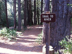 Dimond O Campground Trail