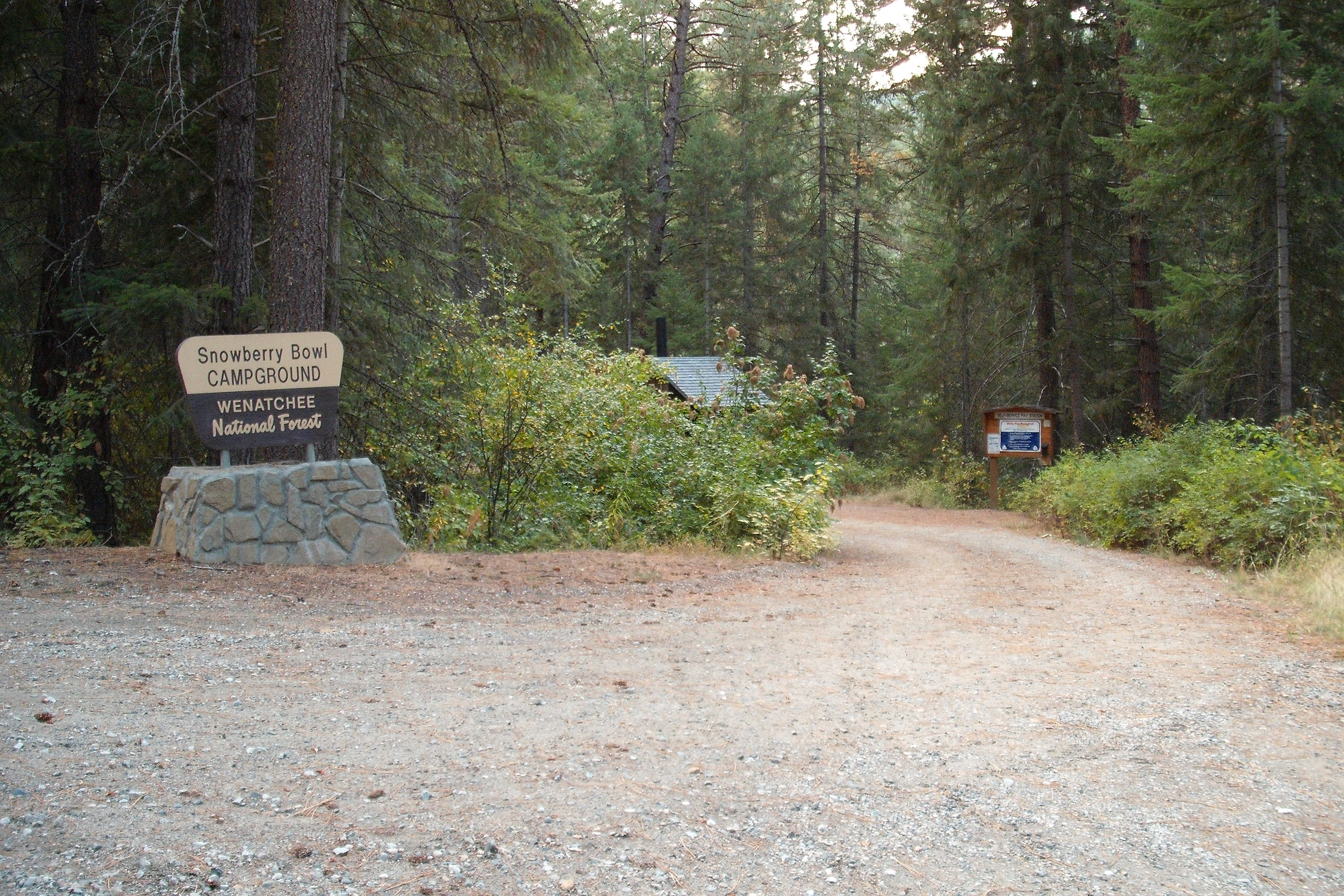Snowberry Bowl Campground