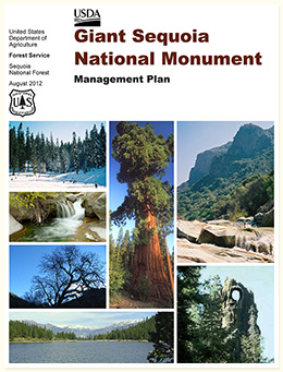 Giant Sequoia National Monument Management Plan