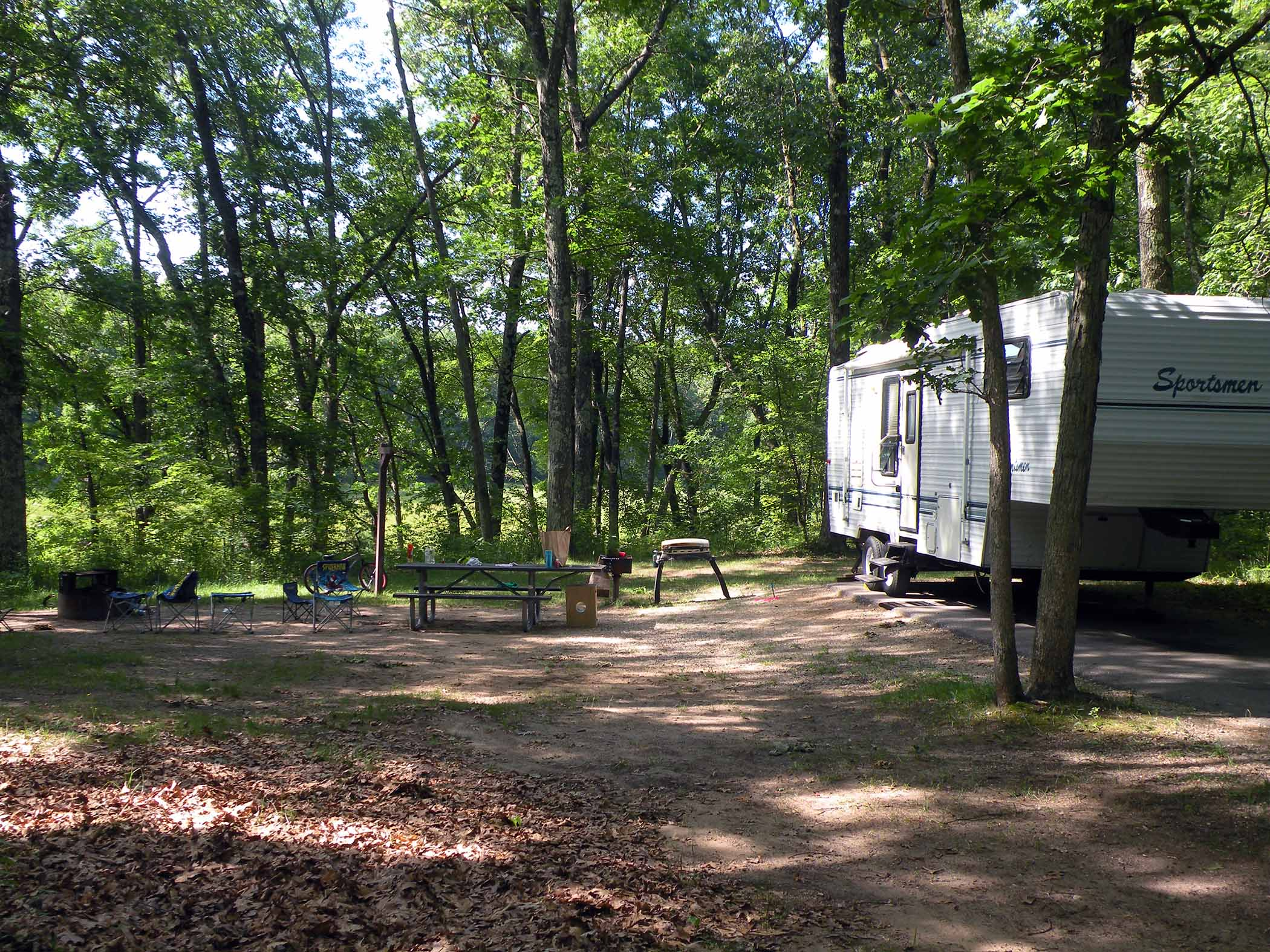 RV Camping at Nichols Lake Campground