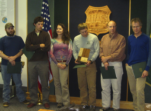Interagency team receives award.