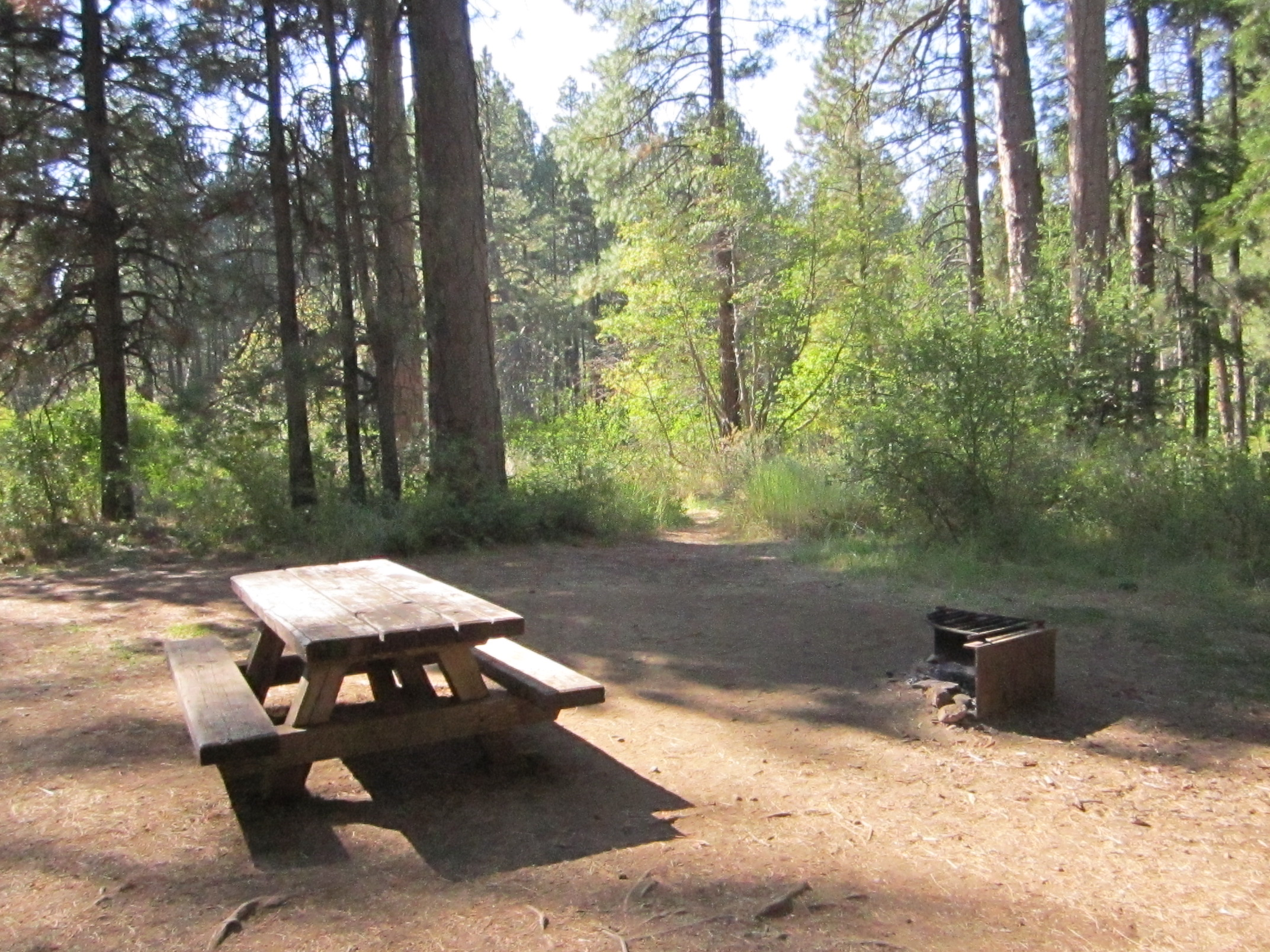 Camp Sherman Campsite