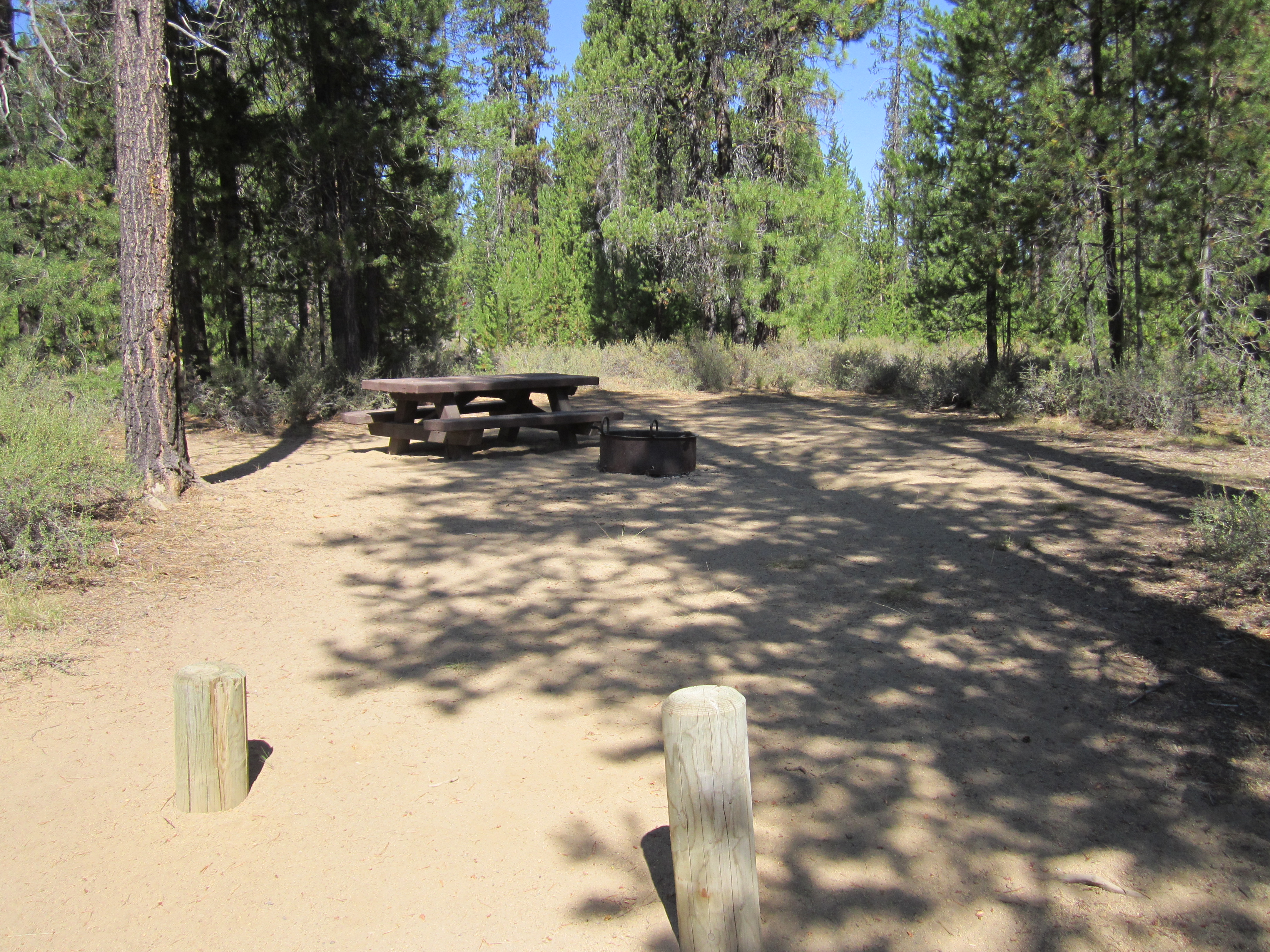 Deschutes National Forest - Fall River Campground