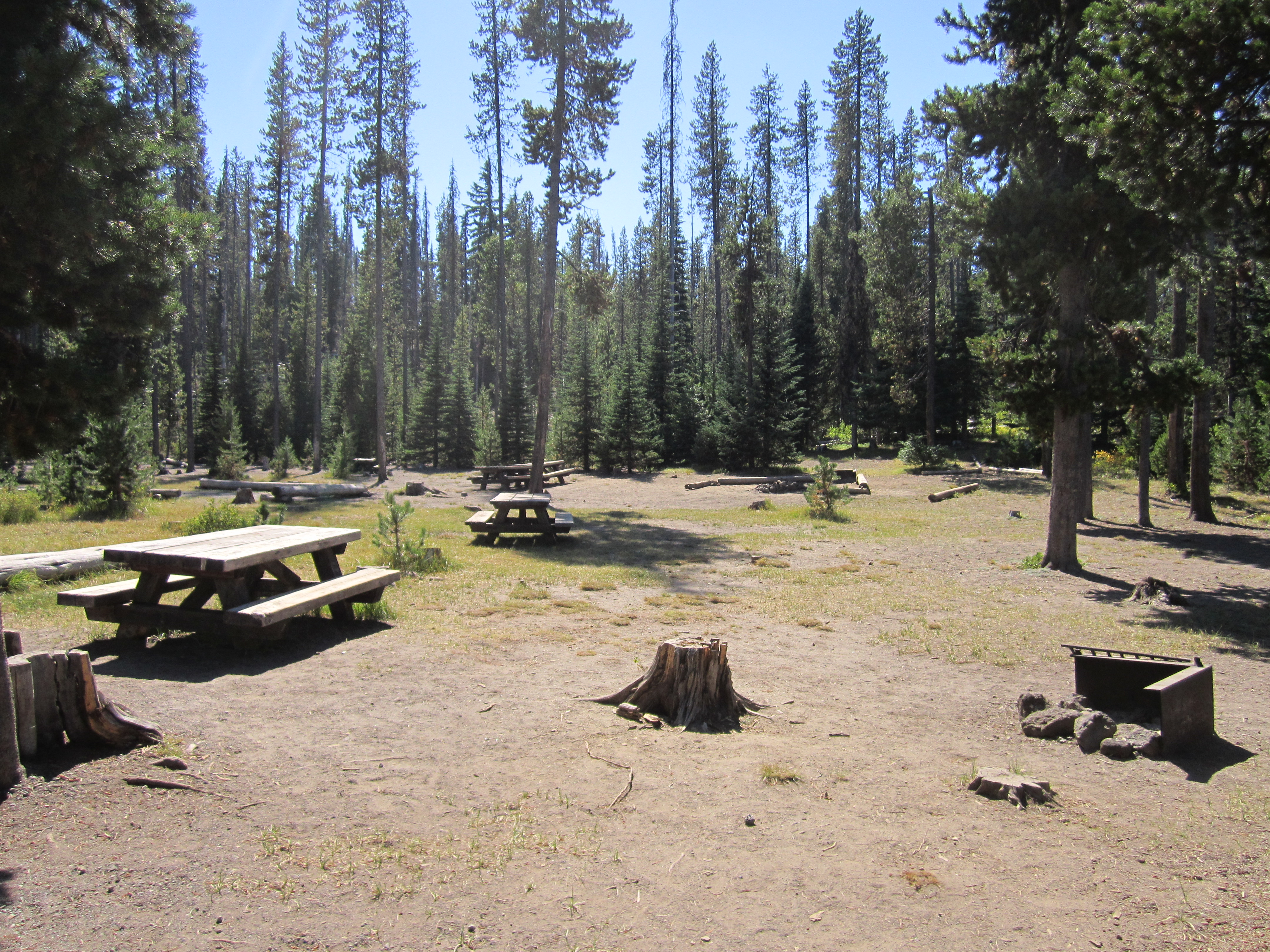 Little Fawn Group Campsites