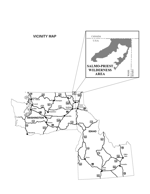 Image: Salmo-Priest Vicinity Map
