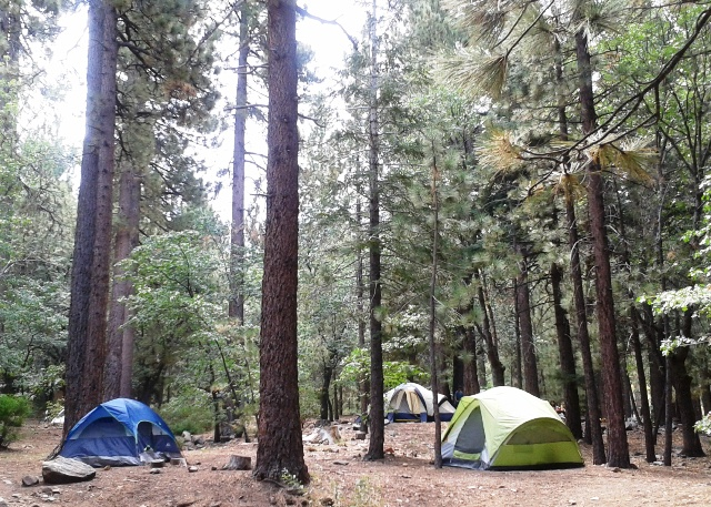 Pineknot Campground is located near the heart of Big Bear Lake and is a beautiful spot to stay.