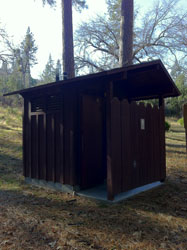 Lost Claim Campground Restroom