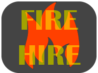 fire hire graphic