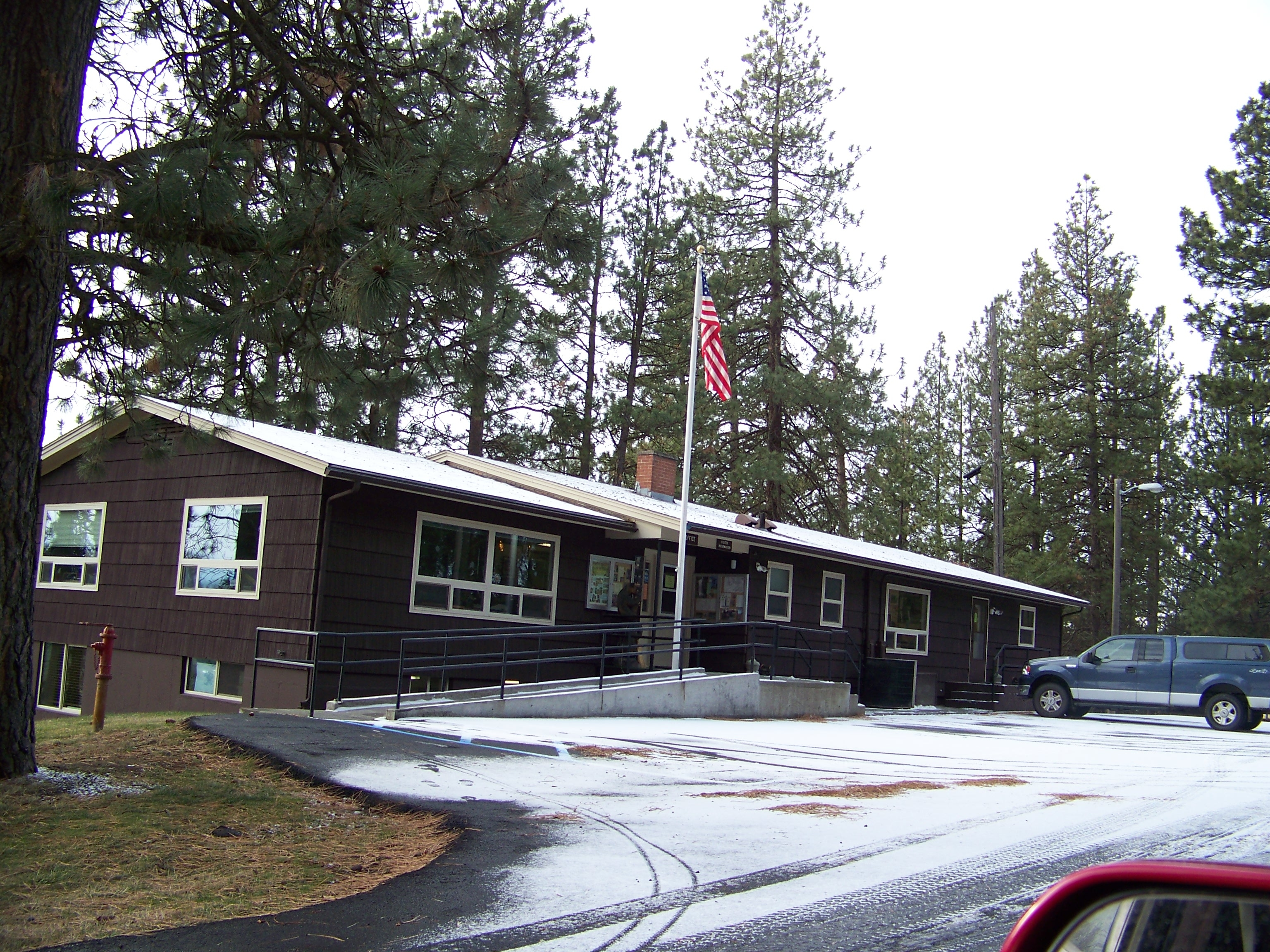 Photo of Palouse Ranger District Office