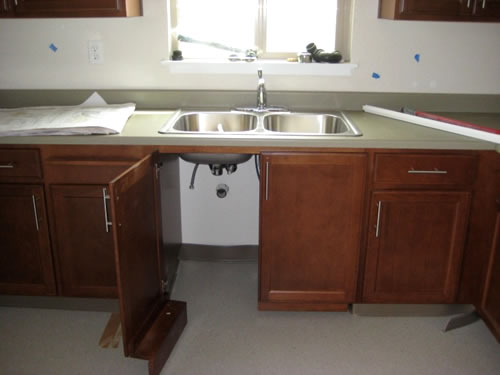 handicap kitchen cabinets ada kitchen cabinets - Ada Kitchen Sink