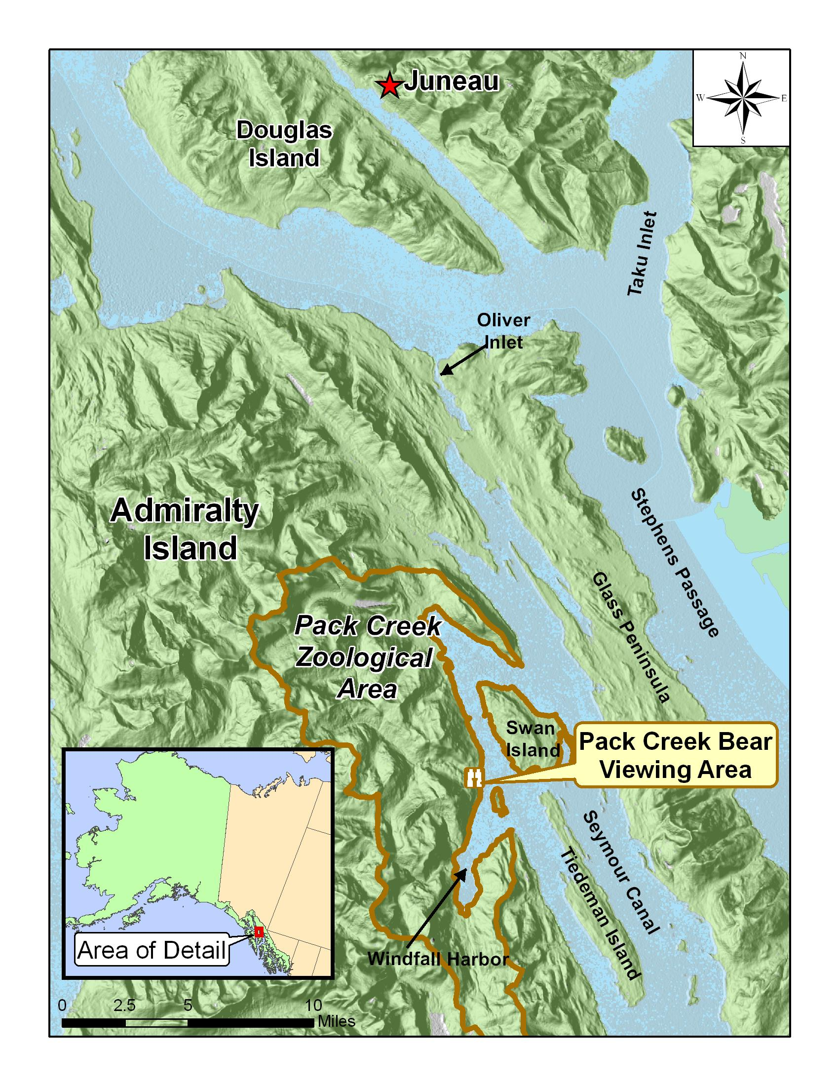 Tongass National Forest Nature Viewing