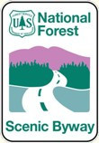 National Forest Scenic Byway logo
