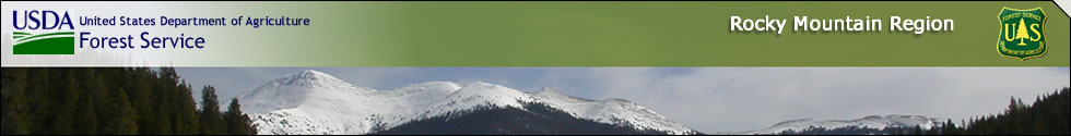 Regional Banner - Mountains covered in snow with a green bar on top