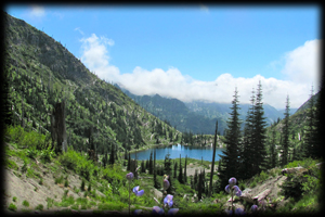 View of Snow Lake