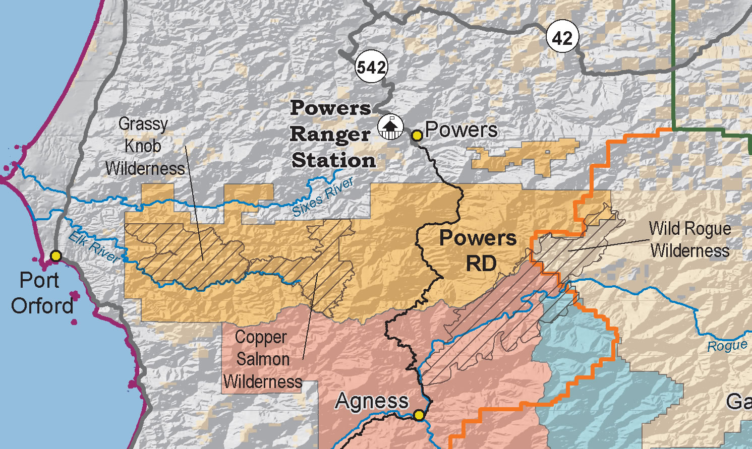Rogue River Siskiyou National Forest Powers Ranger District