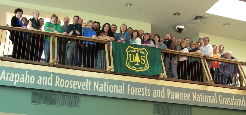 Arapaho and Roosevelt National  Forests and Pawnee National Grassland Headquarters employees