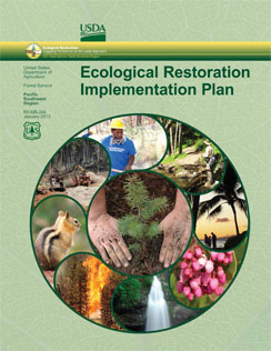 Cover for Ecological Restoration Implementation Plan document.