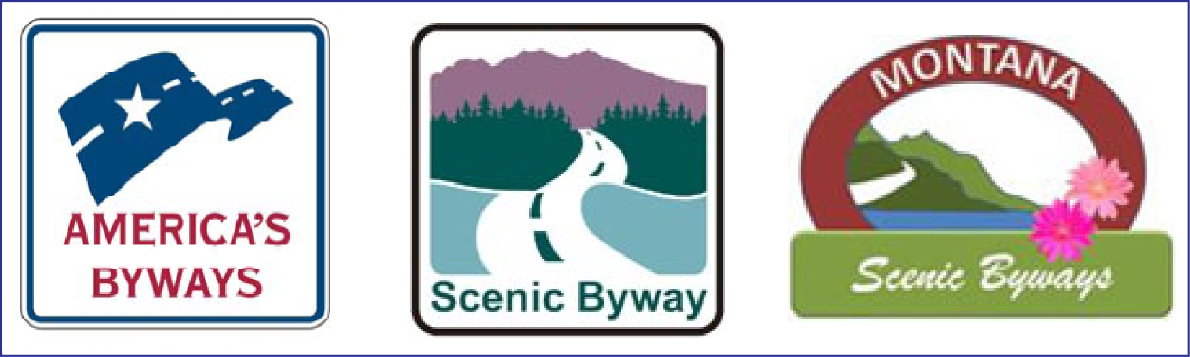 America's Byways, National Forest Scenic Byways, MT Scenic-Historic Byways