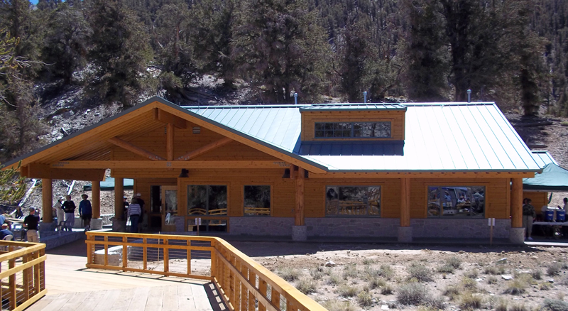 New visitor center for Ancient Bristlecone Pine Forest