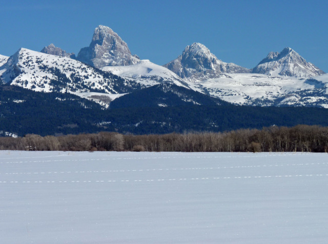 West Side of Tetons