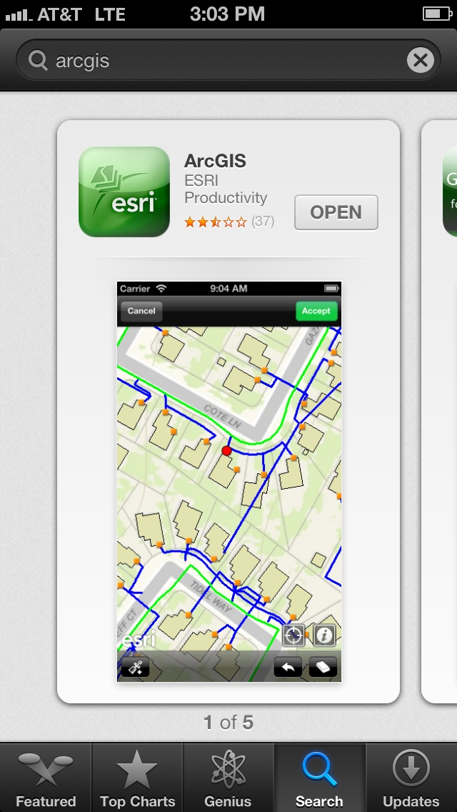 ArcGIS App in Apple App Store