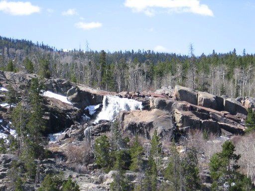 Popo Agie Falls, Washakie Ranger District