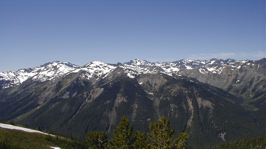 View from Marmot Pass.
